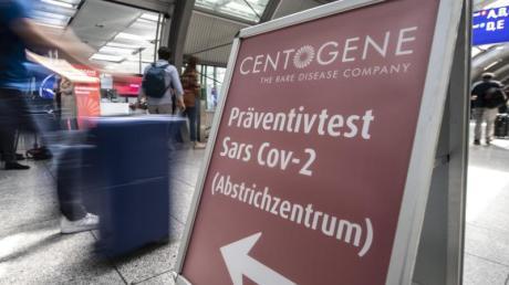 Am größten deutschen Airport öffnet nun das erste Corona-Testzentrum an einem Flughafen in Deutschland.