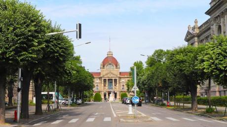 Blick auf das Palais du Rhin. Das Gebäude hat im Lauf der Geschichte verschiedensten Zwecken gedient.