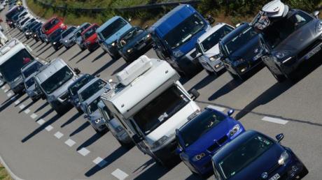Trotz Rückreiseverkehrs können Autofahrer amWochenende mit einem moderaten Stauaufkommen rechnen.
