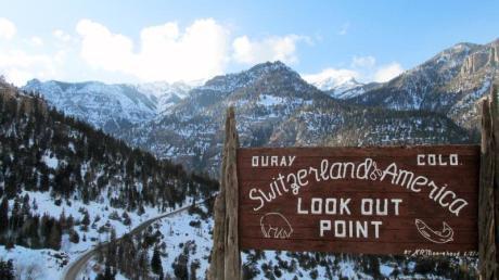 «Switzerland of America»: Ouray wirbt mit einem ambitionierten Vergleich.