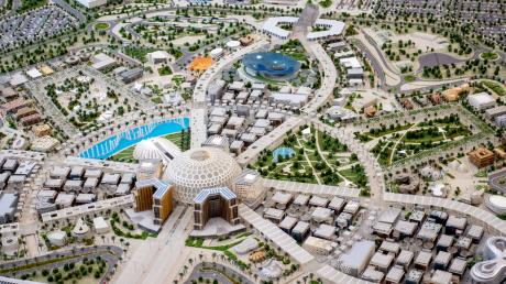 Parallel zur Expo-Weltausstellung in Dubai soll dort auch ein Oktoberfest stattfinden.