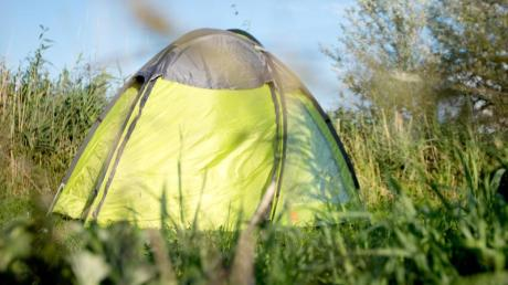 Camping ist an vielen Orten am Ammersee möglich.