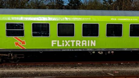 Der Bahn-Konkurrent Flixtrain will von nächster Woche an wieder fahren.