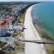 Viele Deutsche machen wegen Corona in diesem Jahr Urlaub im eigenen Land - etwa auf der Insel Rügen.