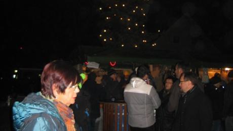 Wurde wegen der Corona-Gefahr jetzt abgesagt: Der Adventsmarkt in Klosterlechfeld.