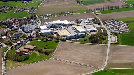 Das Betriebsgelände von Müllermilch in Aretsried. 1300 Menschen arbeiten dort. Als Theo Müller die Firma übernahm, waren es vier.