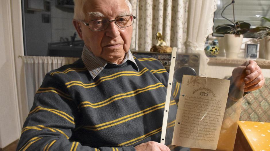 Langerringen: Ein Weihnachtsgedicht aus der Kriegsgefangenschaft ...