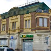 Der Umbau dieses denkmalgeschützten Gebäudes an der Fuggerstraße beginnt am Montag, 20. September.