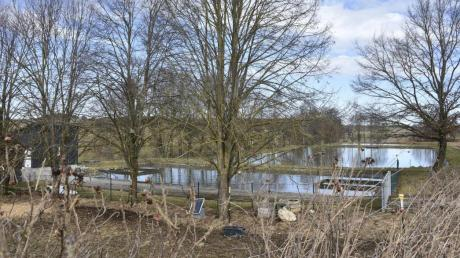 Bei der Scherstetter Kläranlage soll die zweite Halle für den gemeinsamen Bauhof der Verwaltungsgemeinschaft Stauden entstehen.