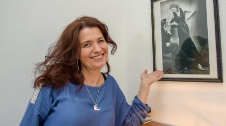 Die musikalische Vergangenheit der Familie ist für Sabine Olbig auf dem Bild der Großeltern präsent.
