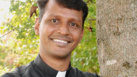 Ist seit neuer Kaplan der Pfarreiengemeinschaft Stauden: Pater Aju James.