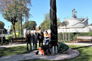 Ein Obelisk als neues Wahrzeichen für Klosterlechfeld