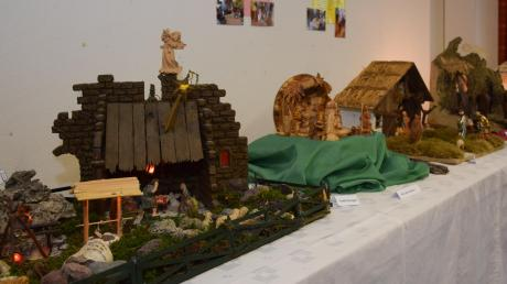 In einigen Wohnzimmern fehlten die Krippen, die bei der Ausstellung in der Kindertagesstätte gezeigt wurden.