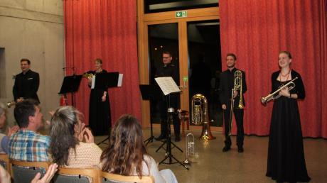 Brawüssimo überzeugte in Lagerlechfeld (von links): Michael Albert, Tamara Kleinhenz, Florian Möschl, Felix Linsmeier und Julia Gehring.