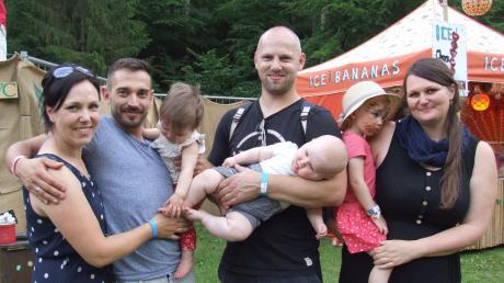 Vor allem junge Familien zog das Festival an. Sie hoben den Wohlfühleffekt hervor.