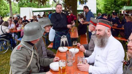 Vielfältige historische und musikalische Eindrücke werden auch dieses Jahr das Bürgerfest am Wasserturm in der Lechfeldkaserne bereichern.