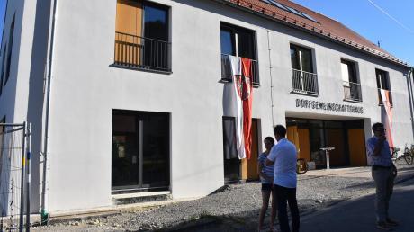 Das neue Dorfgemeinschaftshaus in Schwabegg bietet Räume für die Vereine.