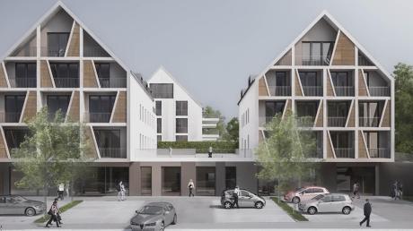 So schaut der neue Schorerhof nach den Plänen in Zukunft aus. Jetzt gibt es einen Baustopp