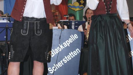 """Zum """"Heimspiel"""" lädt die gastgebende Blaskapelle Scherstetten am Samstagabend ein."""