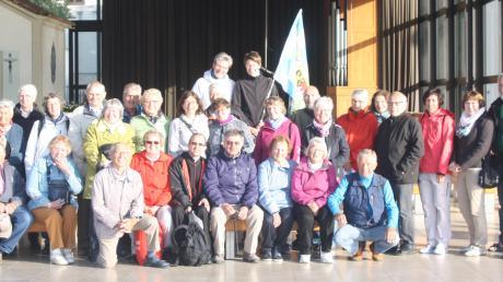 Eine Reisegruppe der Pfarreiengemeinschaft Lechfeld war eine Woche lang in Fatima. Foto: Berger