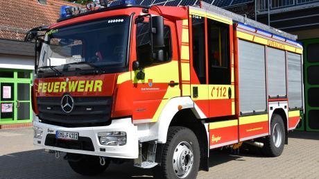 Das neue LF-20 der Schwabmünchner Feuerwehr bietet ein vielfältiges Einsatzspektrum. So ein Einsatzfahrzeug soll jetzt auch die Feuerwehr Großkötz bekommen.