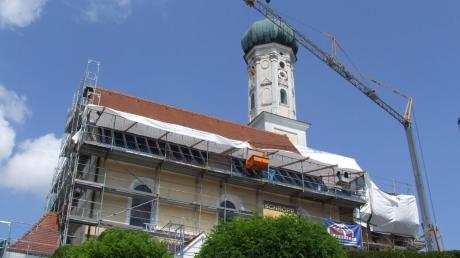 St. Martin bereitet erneut Probleme: Bei der Außensanierung wurden weitere Schwachstellen entdeckt. Deshalb musste das Bauwerk geschlossen werden.