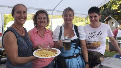 Mit kulinarischen Schmankerln versorgten die Damen aus Oberrothan die Gäste.