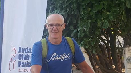 Hubertus Reichert saß bei der Radrundfahrt Paris–Brest–Paris fast 60 Stunden am Stück auf dem Rad. Foto: Gertraud Reichert