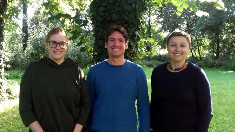 Sie leiteten die Workshops (von links): Silvia Scherer, Sebastian Müller und Marta Budna Lamla. Foto: Zentrum für Seelische Gesundheit Schwabmünchen.