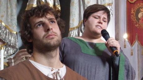Die Solisten Magdalena Deschler und Thomas Strohmeyr setzten das innere Ringen in ihrer Beziehung gesanglich magisch und nuancenreich um.