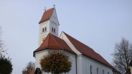 Die Kirche St. Vitus in Oberottmarshausen wurde in den vergangenen Monaten umfangreich renoviert.