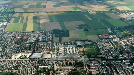 Das neue Baugebiet Haunstetten Südwest soll Platz für mehr als 10000 Menschen bieten.