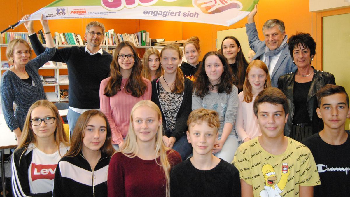 Schulen senden Jugend ins Ehrenamt - Augsburger Allgemeine