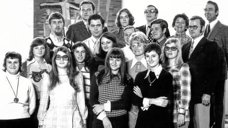 1973 trat der Chor etwas anders als heute heute in Erscheinung.