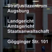 Der Prozess gegen einen Rieser Landwirt wird am Augsburger Landgericht verhandelt.