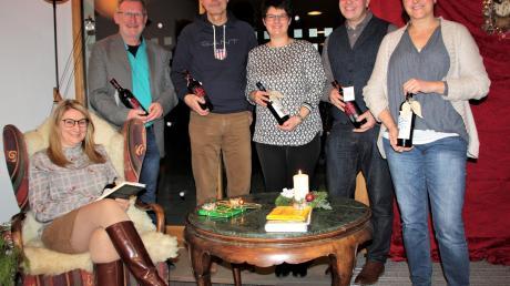 Sie stellten bei den Gallusfrauen ihre Lieblingsbücher vor (von links): Jana Nicolaus, Georgy Heinecker, Alexander Meyer, Christiane Schöpf, Christoph Stuhler und Carolin Hieble.