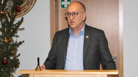 Bürgermeister Erwin Goßner gewann souverän in Großaitingen.