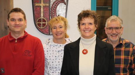 Die amtierende Bürgermeisterin Cornelia Thümmel (2.v.r.) und ihr Wahlkampfteam hoffen darauf, mit den nötigen Unterstützern zur Bürgermeisterwahl 2020 antreten zu können.