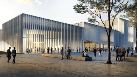 Mit großem Elan gehen die Königsbrunner Kommunalpolitiker derzeit die Neugestaltung des Zentrums an, das vom Freizeitpark im Westen bis zur neuen Mitte am Rathaus reichen soll.