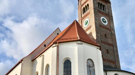 Auch die Sanierung der Pfarrkirche war ein Thema beim Neujahrsempfang. Das Gotteshaus wird derzeit im Inneren saniert.