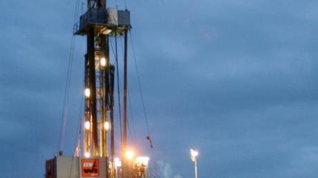 Auf dem Lechfeld wird auch weiterhin Öl gefördert.