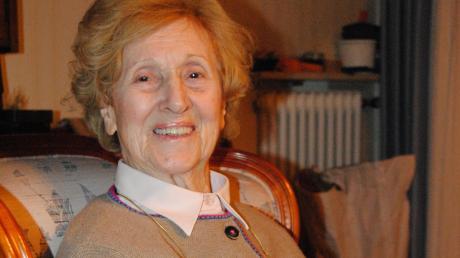Feiert heute ihren 85. Geburtstag: Die BNobinger Stadträtin Waltraut Wellenhofer. Bei der nächsten Kommunalwahl kandidiert sie wieder.