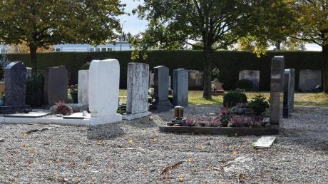 Auch das zentrale Gräberfeld wird im Rahmen der Friedhofsanierung neu strukturiert.