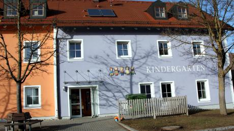 Im Hiltenfinger Kindergarten ist auch die Kinderkrippe untergebracht.