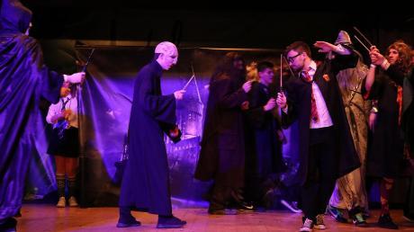 Der ewige Kampf gegen das Böse: Hogwarts liegt derzeit direkt in Mattsies.