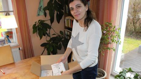 Druckfrisch sind die neuen Bücher der Königsbrunner Autorin Nathalie Salem eingetroffen.