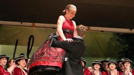 Eine gute Showeinlage boten auch Prinz Stefan I. und Prinzessin Lisa I.