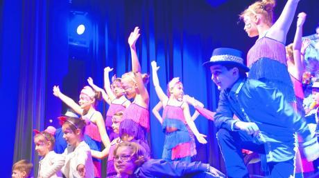 Beim Gardetreffen 2019 traten Kinder und Jugendliche des CCK Fantasia Königsbrunn mit einer Tanzeinlage auf.
