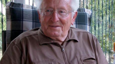 Elmar Pfandzelter hat den Krieg und Gefangenschaft hautnah erlebt.