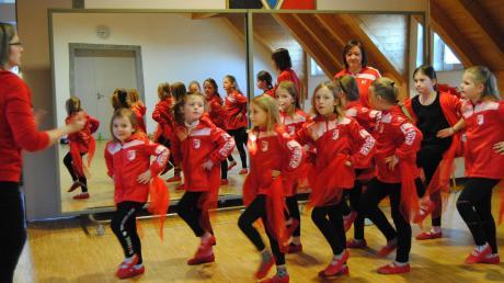 Die Singoldfunken haben für ihren Auftritt beim großen Faschingsumzug in Wehringen fleißig geprobt.